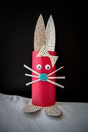 Заяц с бантиком
