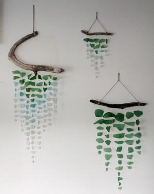 Поделки из стеклышек