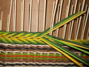 Рисунок в плетении