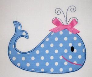 Заплатка в виде кита