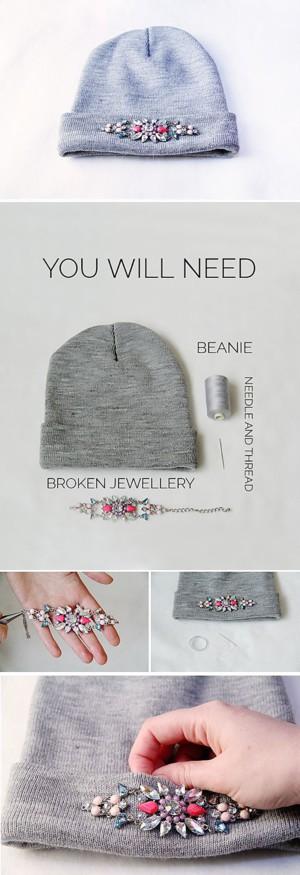 Декор для шапки