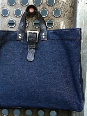 Сумка из джинсов
