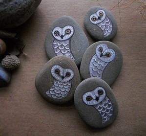 Каменные совушки