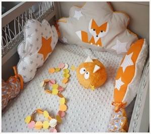 Набор подушек для кроватки