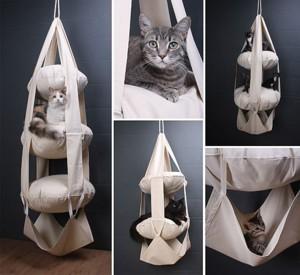 Мягкая этажерка для котов