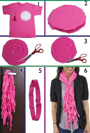 Как сделать шарф
