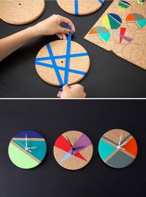 Геометрический рисунок на циферблате