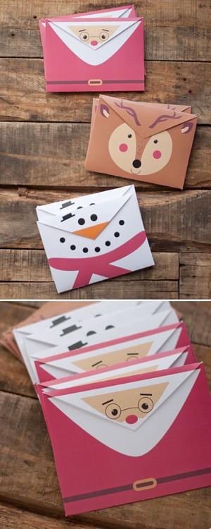 Новогодние конверты