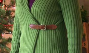 Из пуловера в кардиган