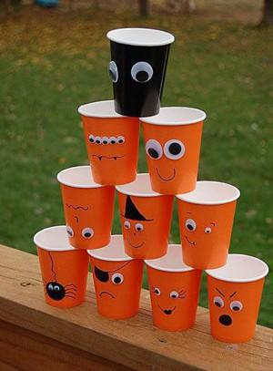 Весёлые стаканчики