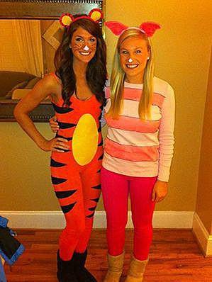 Костюмы Тигры и Пятачка