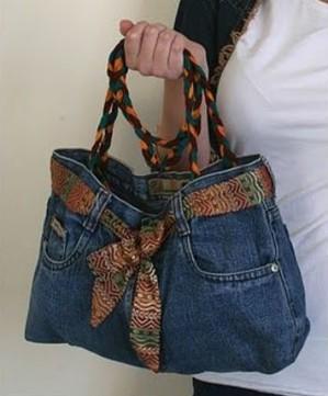 Шьем сумки своими руками из джинсы