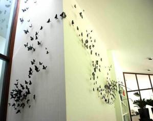 3D-эффект бабочек
