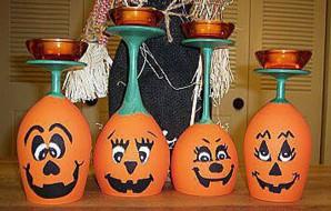 Хэллоуин-декорации
