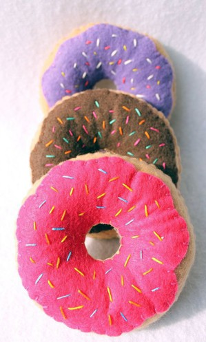 Подушки-пончики