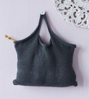 Вязаная сумка для вязания