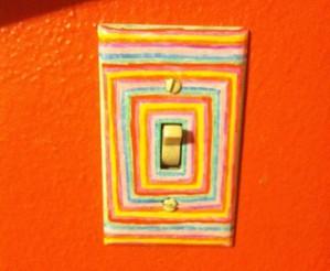 Декор выключателя