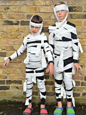 Костюм для мальчика на хэллоуин своими руками 187