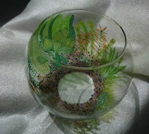Роспись аквариума