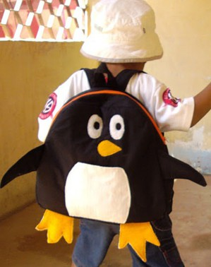 Рюкзак-пингвин