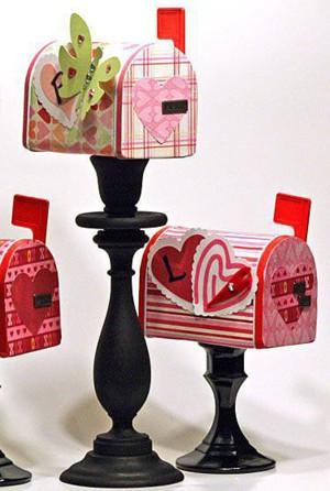 Декоративные почтовые ящики