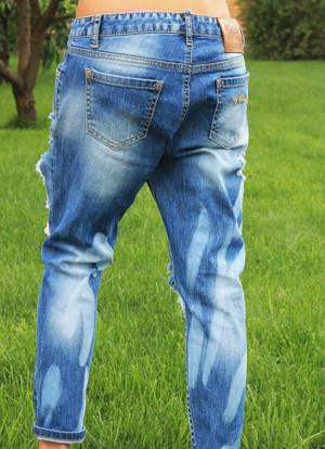 Декор джинсов своими руками