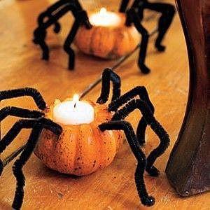 Паук на хэллоуин