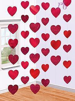 Фотозона с сердечками