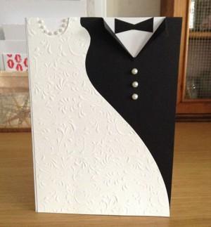Делаем открытки с днем свадьбы своими руками 83