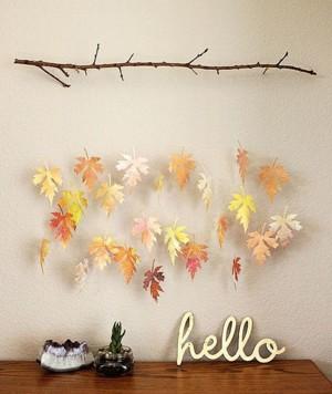 Осенняя инсталляция