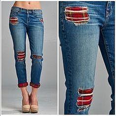 Заплаты на джинсах
