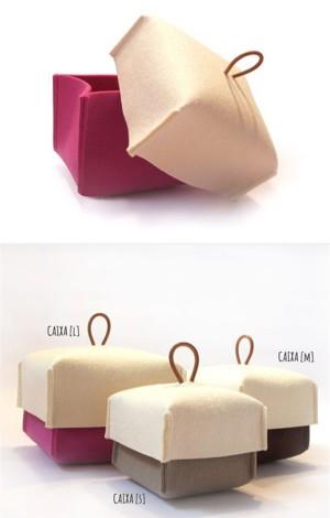 Фетровая коробочка