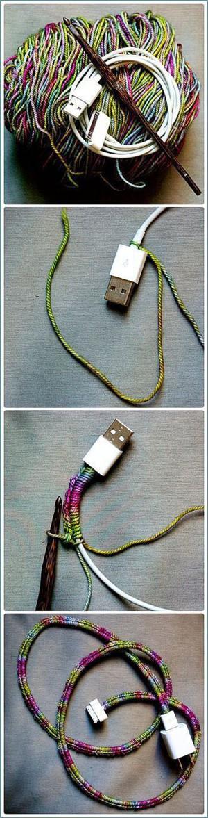 Обвязаные провода