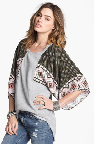 Блуза из шарфа
