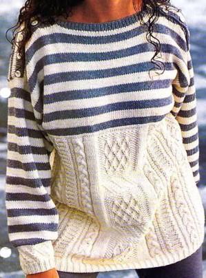 Как будто из двух свитеров