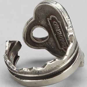 Кольцо из ключа