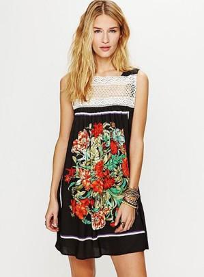 Платье из платков