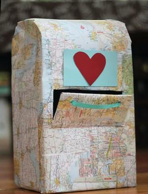 Валентинова почта из картона
