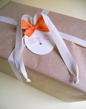 Упаковка пасхального подарка