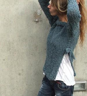 Тканевая вставка для свитера