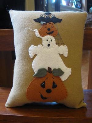 Подушка на Хэллоуин