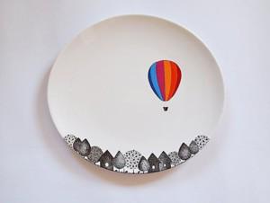 Дизайнерская тарелка