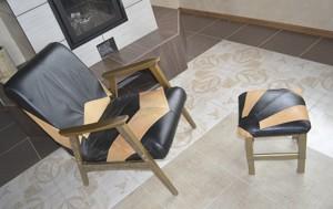Обшивка кресла