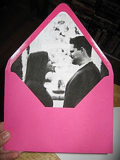 Фотография в конверте