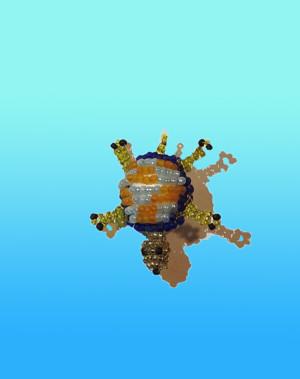 Фото из альбома Игрушки из бисера