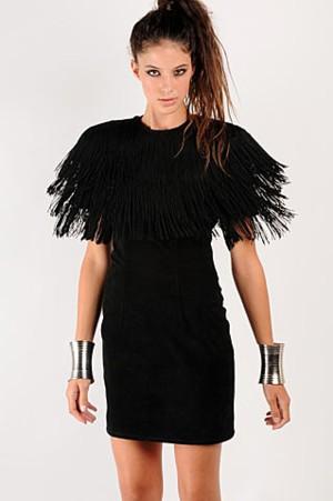 Бахрома на платье