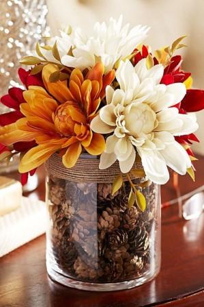 Осенняя ваза
