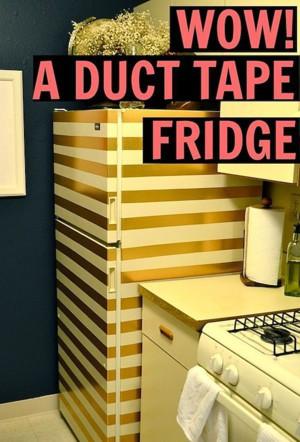 Холодильник в полоску