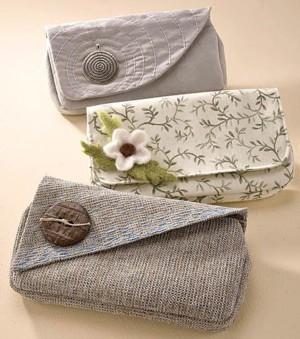 Простой и женственный кошелёк