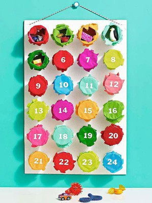 Яркий бумажный календарь